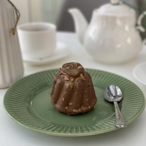 Карамельно - шоколадный кекс
