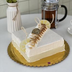 Лимонный торт  (Круглый)