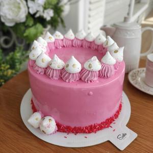 Малинка торт (Круглый)