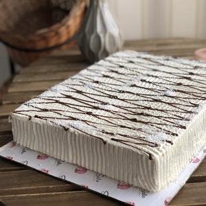 Творожно-бисквитный торт