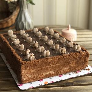 Черный принц торт (Прямоугольный)