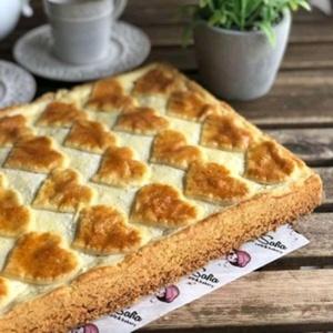Творожная мозайка пирог