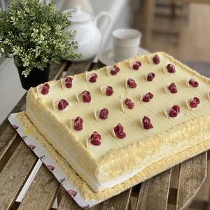 Шоколадно - малиновый торт (Прямоугольный)