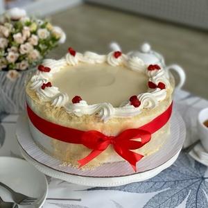 Шоколадно -  малиновый торт (Круглый)