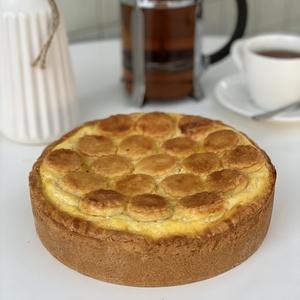 Творожный пирог круглый маленький