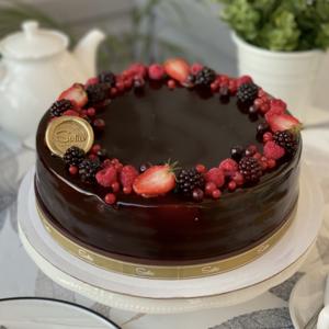 Черный принц торт (Круглый)