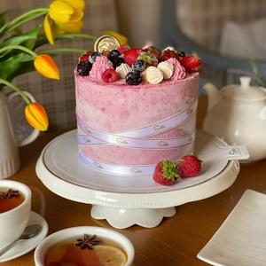 Фруктово - ягодный торт