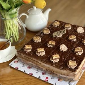 Сникерс торт (Прямоугольный)