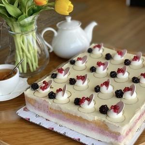 Фруктовый торт (Прямоугольный)