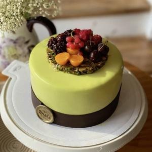 Фисташковый торт ПП