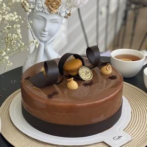 Шоколадный экзот торт