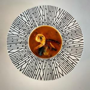 Прованский суп с морепродуктами