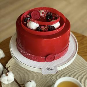 Берри кейк торт круглый